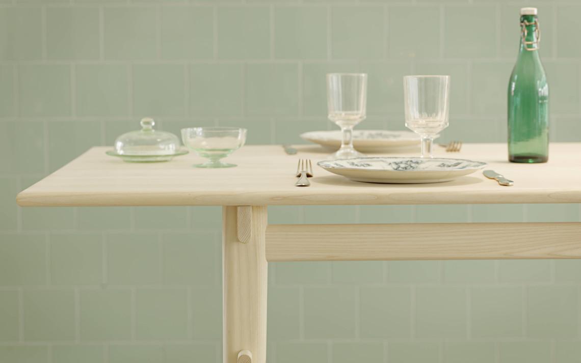 Måttanpassat matbord